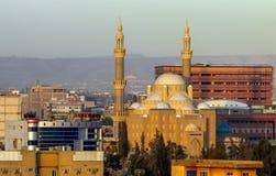 Jalil AL哈亚特清真寺在阿尔贝拉 库存图片