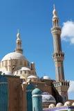 Jalil Khayat清真寺Erbil伊拉克。 库存照片