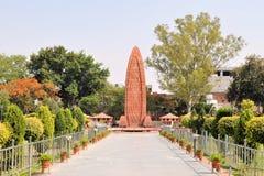 Jallianwala Bagh大屠杀纪念品,阿姆利则 库存照片