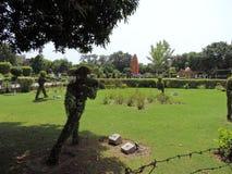 Jallianwala Bagh,阿姆利则,印度 库存图片