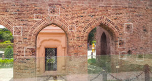 Jallianwala Bagh Memorial , Amritsar, Punjab. The wall in Jallianwala Bagh has many bullet marks which can be seen at present. This was fired into the crowd by Stock Photos