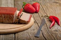 jally φράουλα πατέ Στοκ Φωτογραφίες