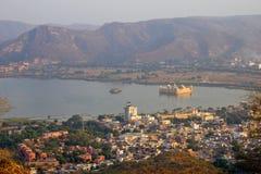 Jalmahal aerial view