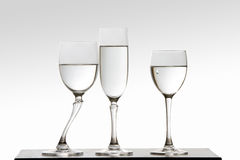 Jaloers glas en scheur Stock Fotografie