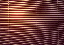 jalousie da Sun-proteção Fotos de Stock Royalty Free