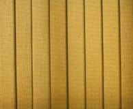 Jalousie de textile Photographie stock