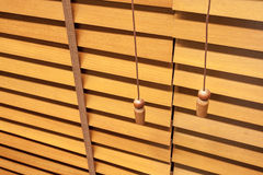 Jalousie horizontal de madeira Imagens de Stock