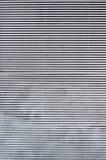 Jalousie metálico horizontal foto de stock