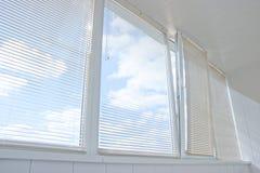 jalousie okno Fotografia Stock