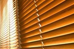 Jalousies horizontales Photographie stock libre de droits