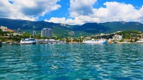 Jalta, Crimea, Ucraina stock footage