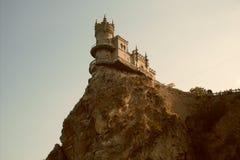 Jalta, il nido del sorso Fotografie Stock