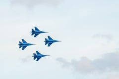 Jalta - 12. Juni Feiern des Tages von Russland Lizenzfreies Stockfoto