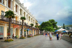 Jalta. Krim Stockfotografie