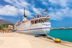 JALTA, UKRAINE - 24. MAI: Das ADRIANA-Kreuzschiff Stockbild