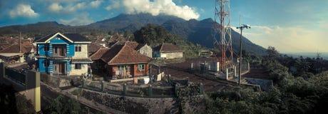 Jalur Pendakian Gunung Ciremai Стоковое Изображение RF