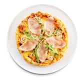 Jamón de la pizza foto de archivo libre de regalías