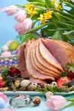 Jamón de Pascua Imagen de archivo libre de regalías