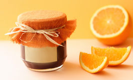 Jam. Sweet hand-made fruit jam royalty free stock images