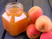 jam apricot Fotografia Stock