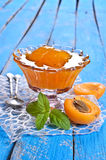Jam from apricots Royalty Free Stock Photo