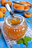 Jam from apricots Royalty Free Stock Photography