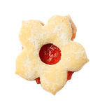 Jam biscuit Stock Images