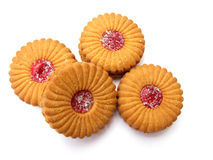 Jam Biscuits stock photography