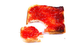 Jam bite Royalty Free Stock Image