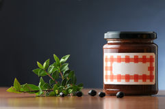 Jam can Royalty Free Stock Images