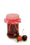 Jam of Cherries Royalty Free Stock Photo