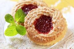 Jam cookies Stock Photo