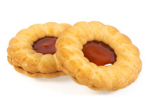 Jam cookies Stock Images