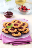 Jam cookies Royalty Free Stock Photo