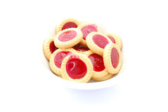 Jam cookies Royalty Free Stock Image