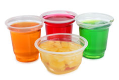 Jam cups Stock Images