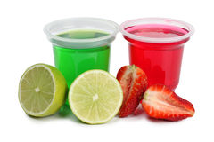 Jam in cups Stock Image