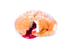 Jam donut Stock Photography