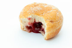 Jam Doughnut Stock Photo