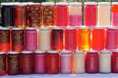 Jam en marmelade Royalty-vrije Stock Afbeelding