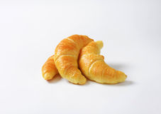 Jam filled croissants Stock Images
