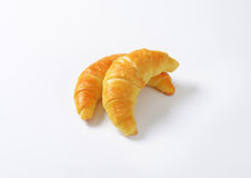 Jam filled croissants Royalty Free Stock Photography