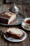 Jam Filled Pound Cake Stock Images