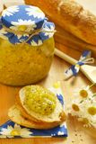 Jam from gooseberry and orange Royalty Free Stock Photography