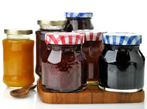 Jam In The Jars Royalty Free Stock Photography