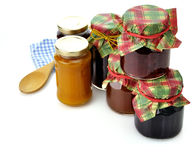 Jam In The Jars Royalty Free Stock Images
