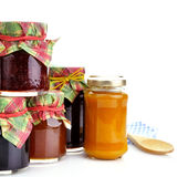 Jam In The Jars Stock Photography