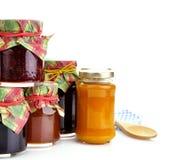Jam In The Jars Stock Photo