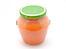 Jam Jar Royalty Free Stock Photography