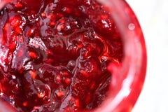 Jam in a jar stock image